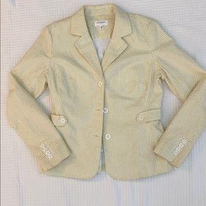 Women's Isaac Mizrahi SeerSucker Jacket